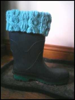 my rubber boot liners :)
