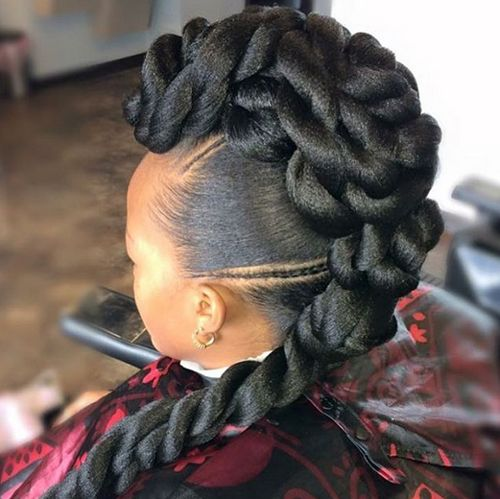24 best african american braided updo hairstyles images on african american braided updo hairstyles pmusecretfo Images