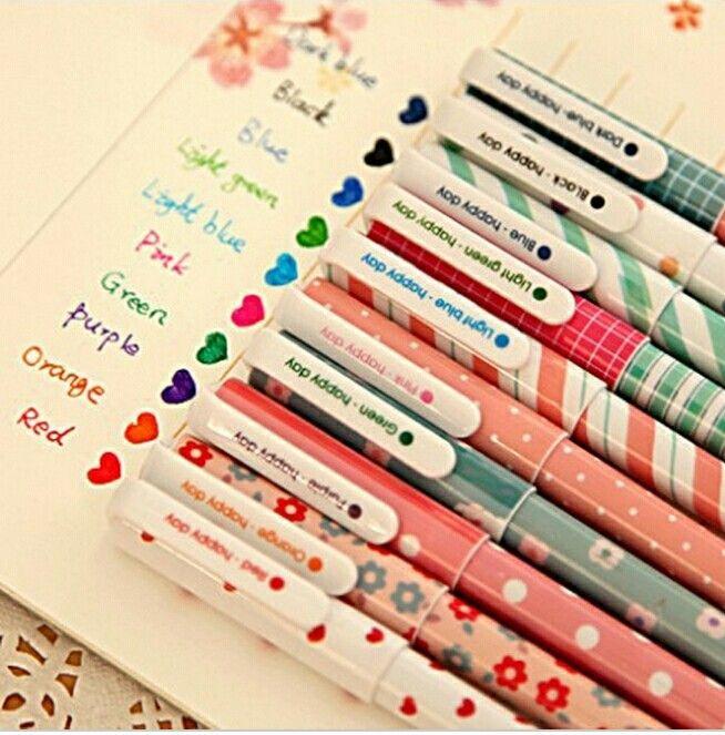 Pin By Rawan Ali On Back To School Gel Pens Set Stationery Pens Gel Pens Coloring