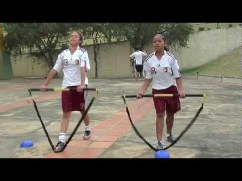 Circuit Training - Vinotinto Sub 17 - Fútbol Campo Femenino.