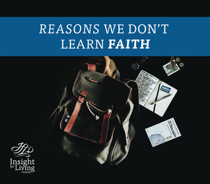 3 reasons we don't learn faith: 1) We make such good livings 2) We don't give much away 3) We don't really trust  #deeper, #walk, #biblestudy, #jesus, #wordstoliveby, #church, #faith, 3christian, #risk #taking