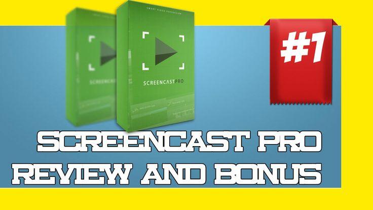 Screencast Pro Review and Bonuses|Best Screencast Pro Review|Camtasia tr...
