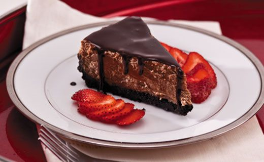 Chocolate Velvet Cheesecake. Cheesecake and chocolate, together at last - chocolate lovers rejoice! Ideal for entertaining.