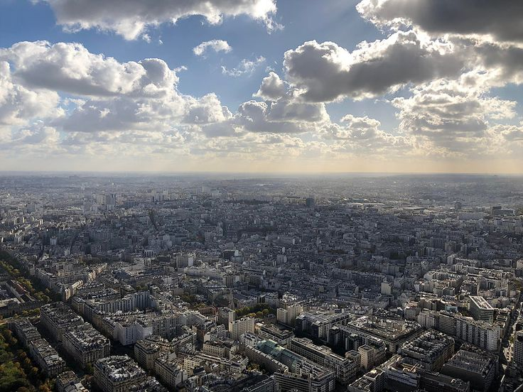 Top of the Eiffel Tower Views