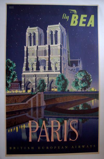 daphne padden: paris poster