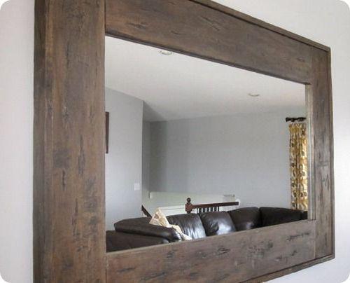 best 25 framing a mirror ideas on pinterest. Black Bedroom Furniture Sets. Home Design Ideas