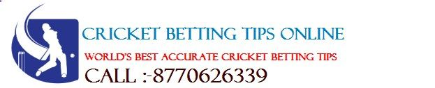 Cricket Betting Tips Online is a free cricket betting tips providing website. We at cricketbettingtip... gives guarantee of 90% accurate results. This website is run By KABIR SIR, he is very talented and expert tipster for cricket betting tips, ipl betting tips, cricket session betting tips live etc.. Follow www.cricketbettin...