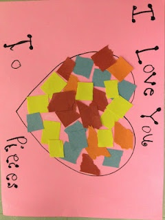 This gives me a great idea! I'm going to the Dollar Tree to buy a preschool-appropriate puzzle for the kids in Nick's class & putting this saying on it for Valentines gifts instead of candy & junk.