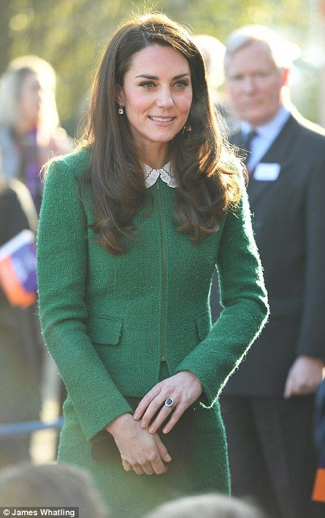 In her role as royal patron of EACH, Kate helped to launch the charity's Nook Appeal in 20...