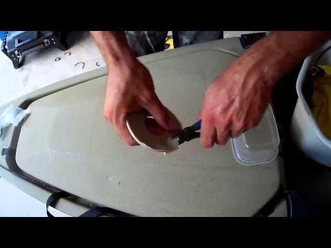 Plastic welding 101: MOST SIMPLE way to repair cracked or damaged KAYAKS! - YouTube