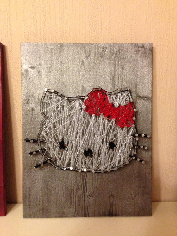 137 best images about string art on pinterest diy string art string art and string heart - String art modele ...