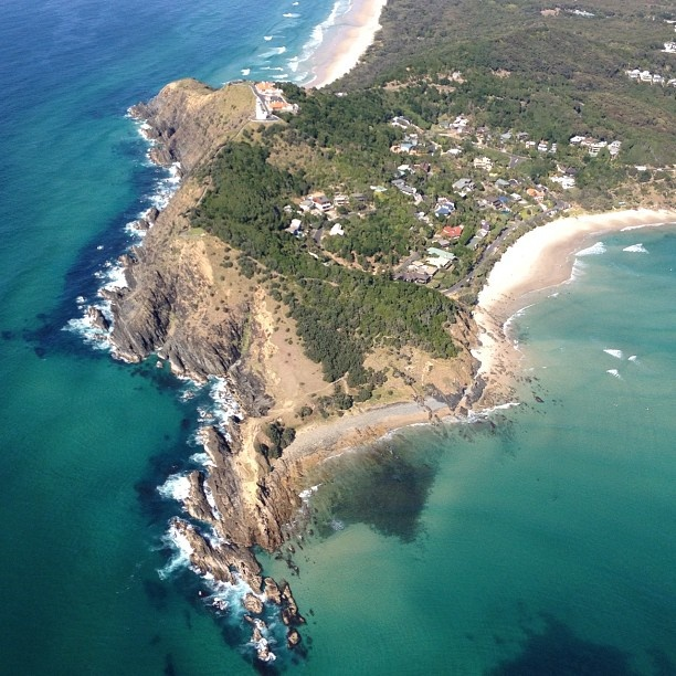 Byron Bay - birds eye