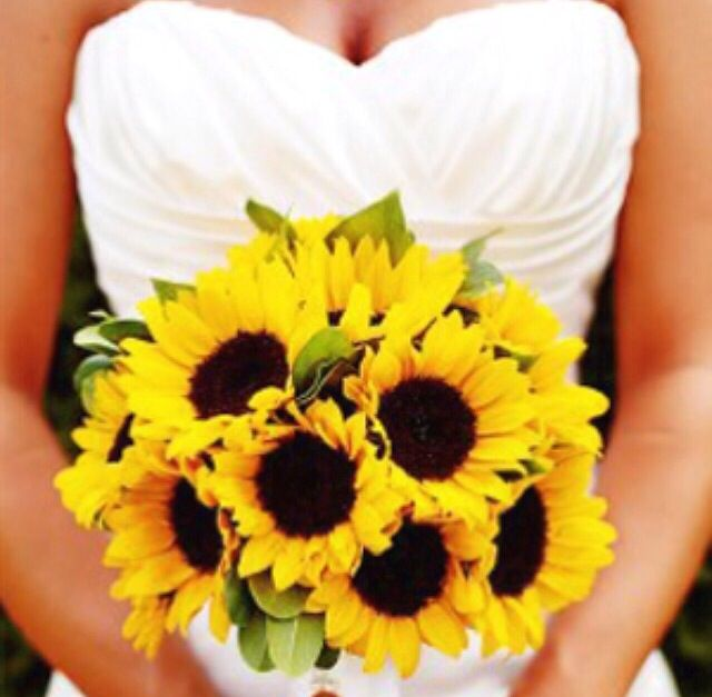 Sunflower Bouquet Inspiration
