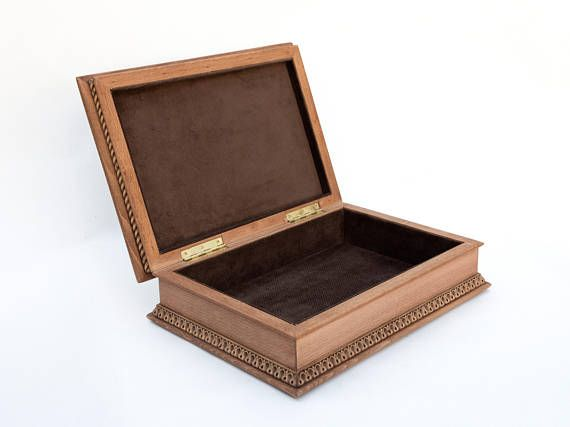 55 best Wooden Jewelry box images on Pinterest Wooden jewelry