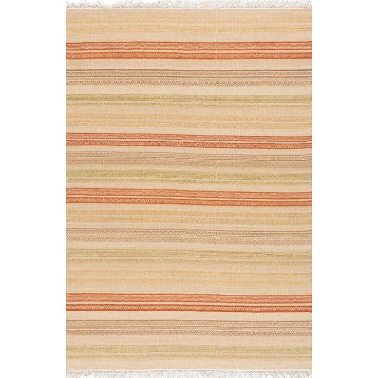 Ковер песочного цвета килим Kilim Stripes #carpet #carpets #rugs #rug #interior #designer #ковер #ковры #дизайн  #marqi