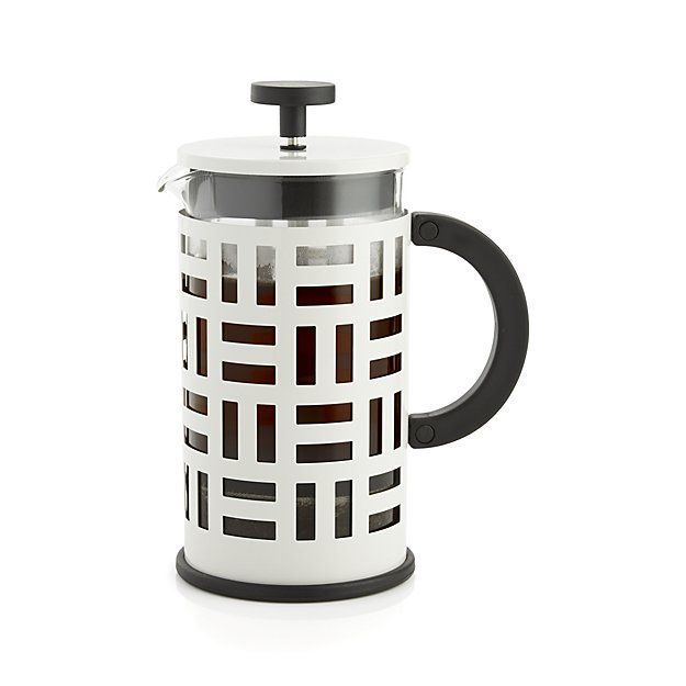 Design French Press Coffee Maker : This classic French press coffee maker has a bold, graphic design to add panache to the coffee ...