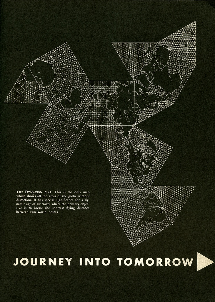 14 best maps mapas images on pinterest maps buckminster fuller photo buckminster fuller dymaxion map from an edition of gentry 1953 gumiabroncs Images