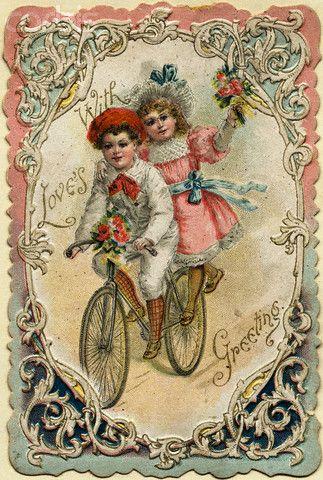 Pretty valentine cards