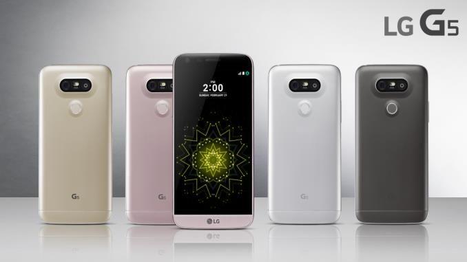 De LG G5 met prachtig design en groothoeklens camera!