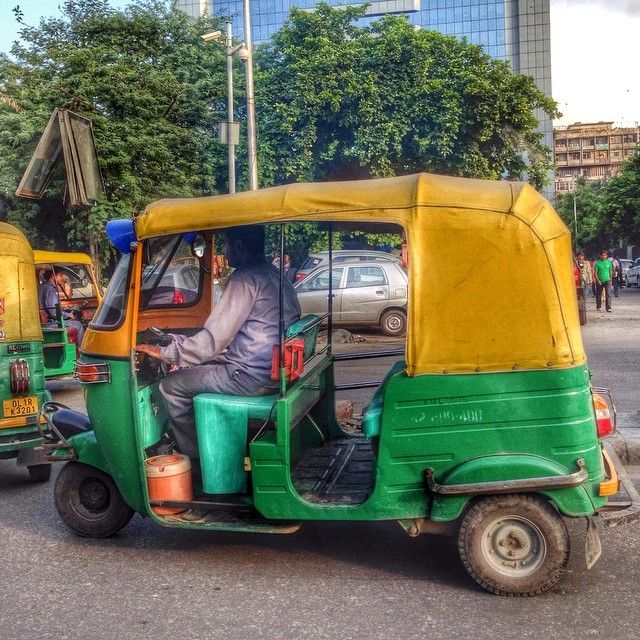 Tuk tuk (rickshaw) - New Dehli