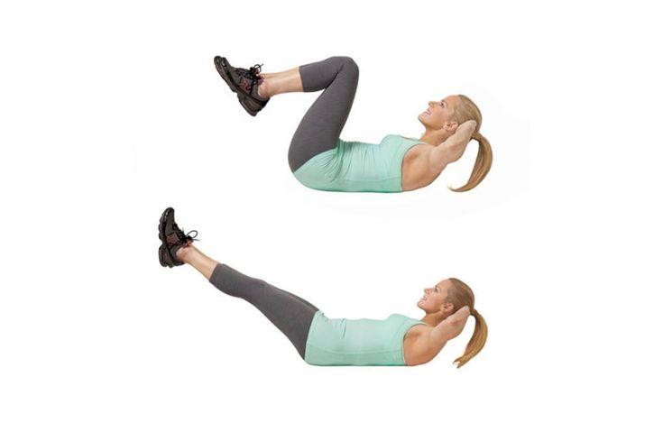 Een korte workout die je armen, benen en billen aanvuurt - train je hele lichaam met slechts vier oefeningen.