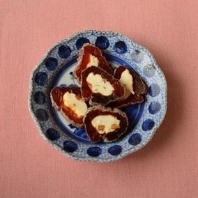 クリームチーズの干し柿巻き レシピブログ