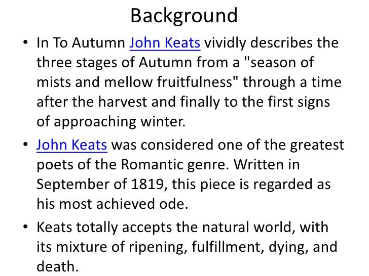 the best keats to autumn ideas to autumn  john keats ode to autumn essays opinion of professionals