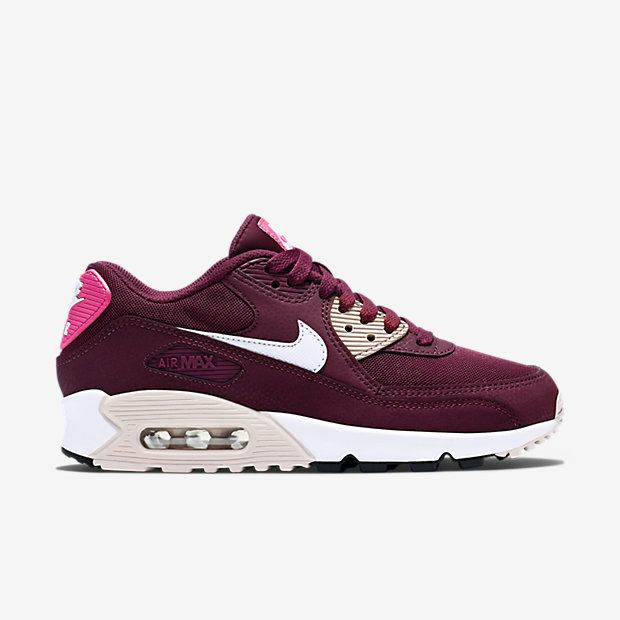 nike air max 90 ultra essential ligero gris antracita negro blanco blanco  819474; womens shoes running shoes burgundy nike free run nike sneakers  oddly ...