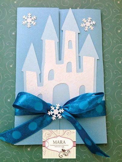 Tarjetas de invitacion con forma de castillo buscar con - Ideas para fiestas infantiles en casa ...