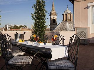 Navona Penthouse Ideal for 4 people with 360 Panoramic View!!Vacation Rental in Piazza Navona from @HomeAway! #vacation #rental #travel #homeaway