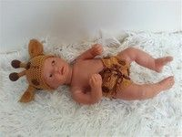 PATR202 - Newborn - baby-outfit - giraffe HAAKPATROON
