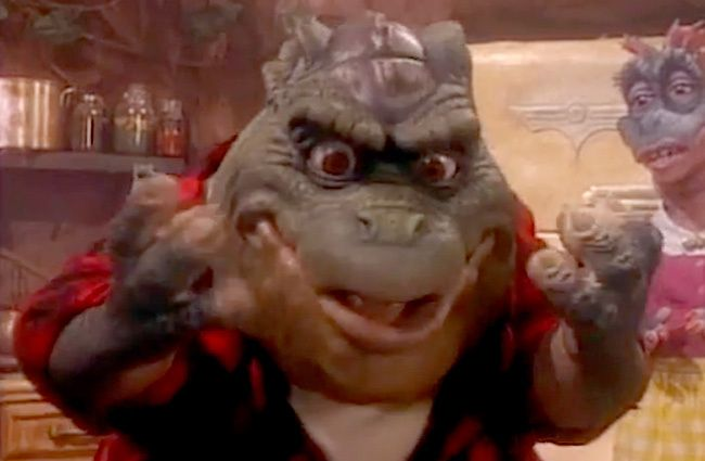 Earl Sinclair From 'Dinosaurs' Covering The Notorious B.I.G. Is The Reason The Internet WasCreated