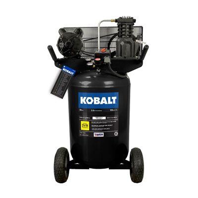 Kobalt VT6389 2 HP 30-gal 155 PSI Portable Electric Air Compressor