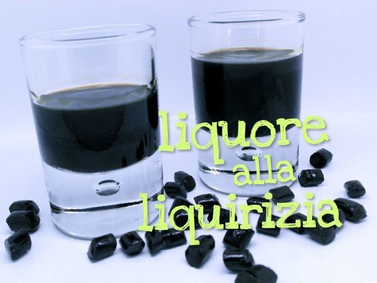 LIQUORE ALLA LIQUIRIZIA FATTO IN CASA DA BENEDETTA – Homemade licorice liqueur