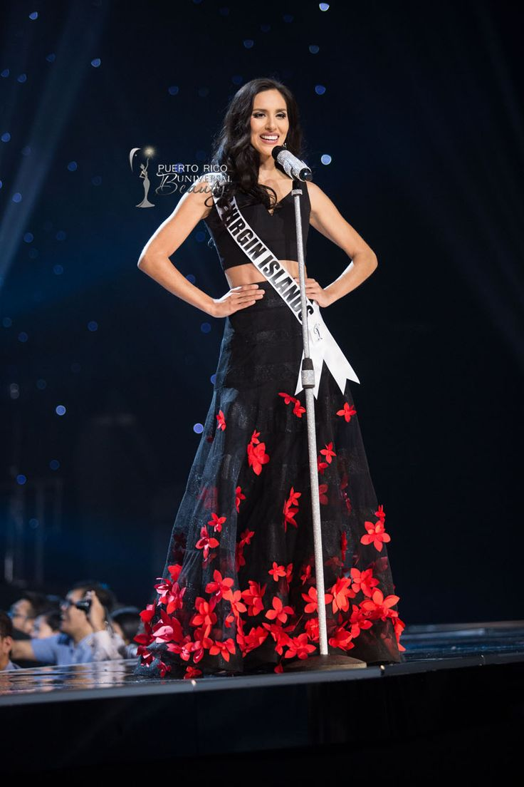 MISS UNIVERSE 2016 :: PRELIMINARY COMPETITION - OPENING | Carolyn Carter, Miss U.S. Virgin Islands 2016, on stage in fashion by Sherri Hill and footwear by Chinese Laundry during the opening of the 65th MISS UNIVERSE® Preliminary Competition at the Mall of Asia Arena on Thursday, January 25, 2017. #MissUniverse2016 #MissUniverso2016 #MissUniverse #MissUniverso #MissUSVirginIslands #MissIslasVirgenesEstadounidenses2016 #CarolynCarter #Manila #Filipinas #Philippines #MallOfAsia
