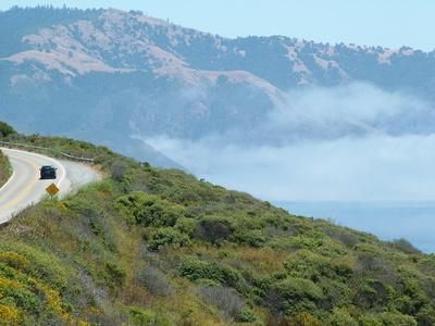 RV Parks Along Hwy1 in California: Highway 1 follows the ocean in many areas in California.