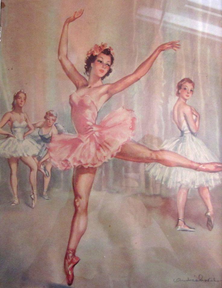 Vintage Ballerina Prints 61