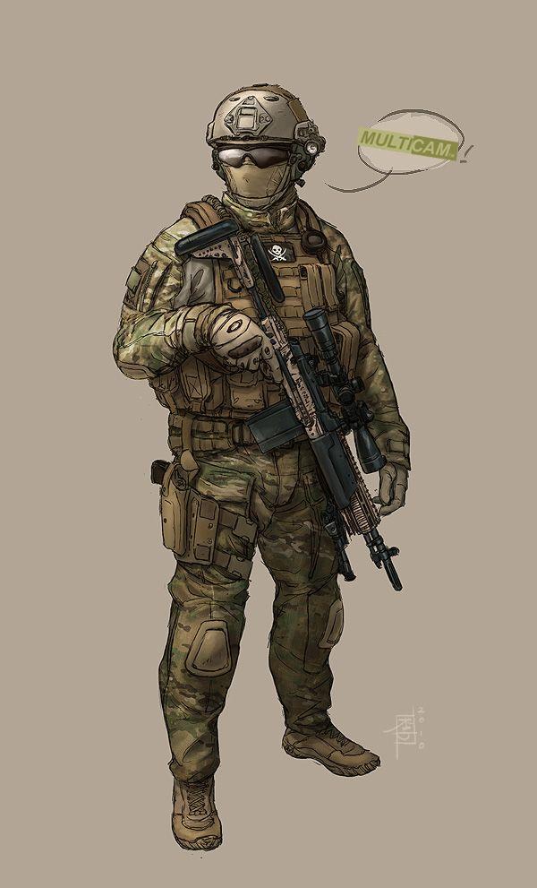 Multicam+Rifleman+by+MarcWasHere.deviantart.com+on+@deviantART