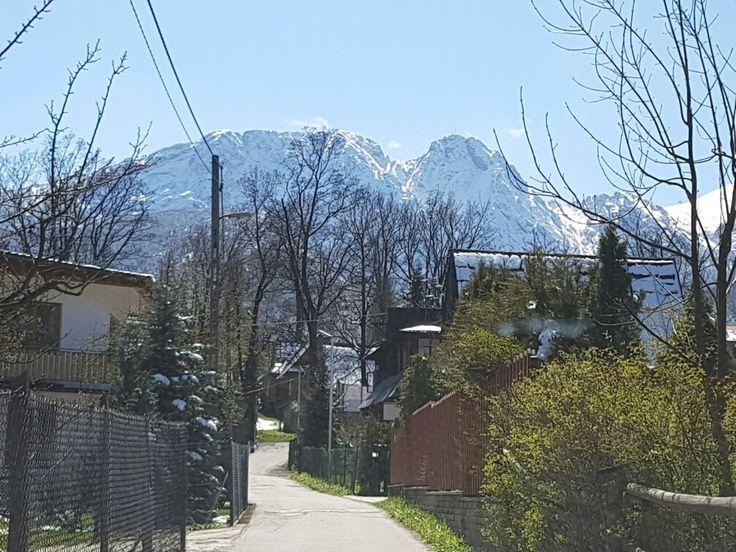 Droga na #Szymoszkowa, #Zakopane #Giewont #Tatra #mountains