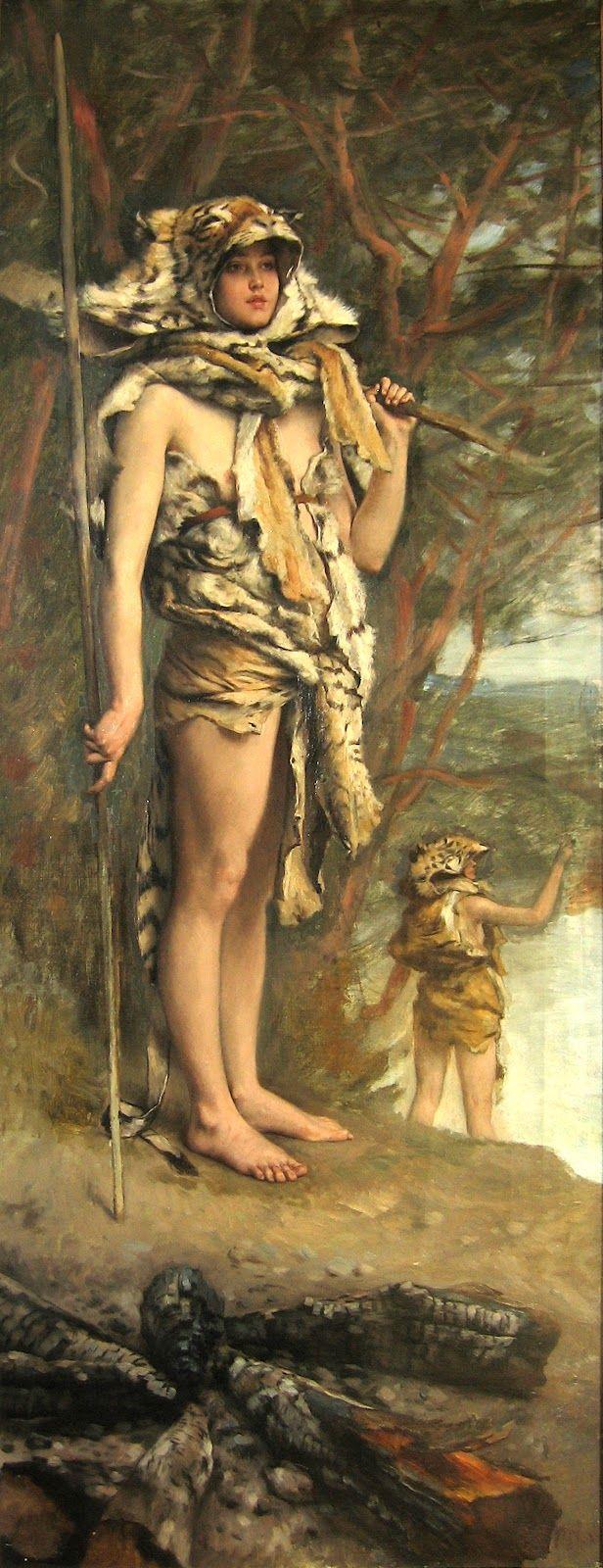 Προ ιστορική γυναίκα (1895)