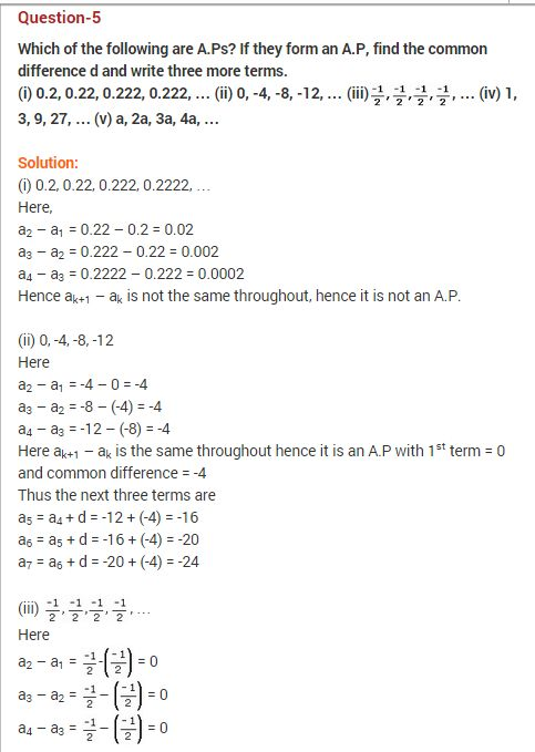 NCERT-Solutions-For-Class-10-Maths-Arithematic-Progressions-Ex-5.1-Q-4-ii