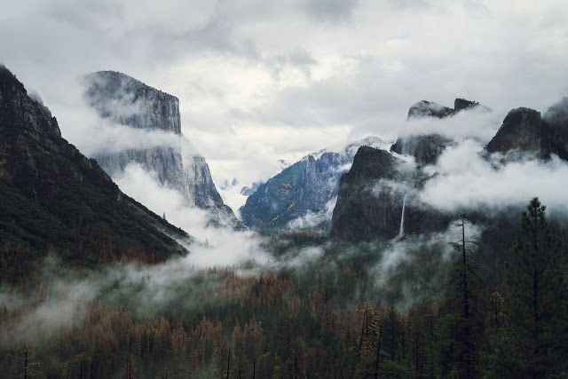 Desktop Wallpaper Cloudy Mountains Desktop Background Nature Nature Desktop Wallpaper Desktop Wallpaper Fall
