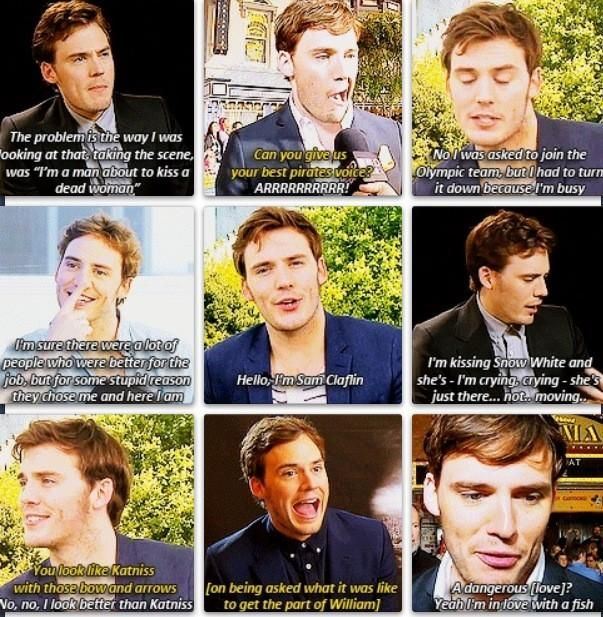 THIS IS FOR THE PEOPLE WHO DON'T THINK THAT SAM IS A GOOD FINNICK. HE IS PERFECT!