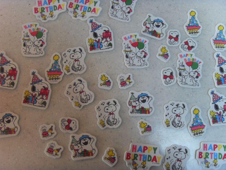 2016.2.7. Universal Studios Japan SNOOPY sticker. Susan's present.