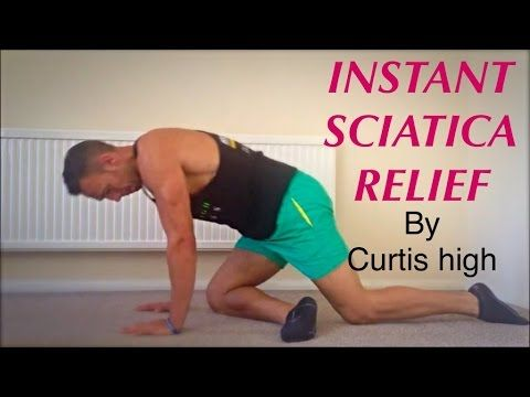 Pain Relief: INSTANT SCIATICA PAIN RELIEF - Curtis High