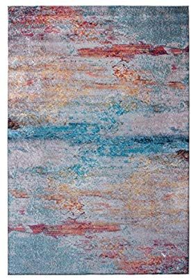 Amazon Com Mylife Rugs Biella Collection Contemporary Modern Non