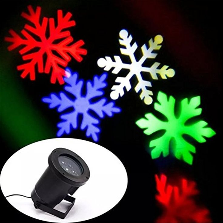 34.36$  Buy here - http://aiox6.worlditems.win/all/product.php?id=32791869424 - Multicolor/White Snow Moving LED Laser Light for Landscape House Outdoor Christmas Garden lawn spotlight EU/US plug