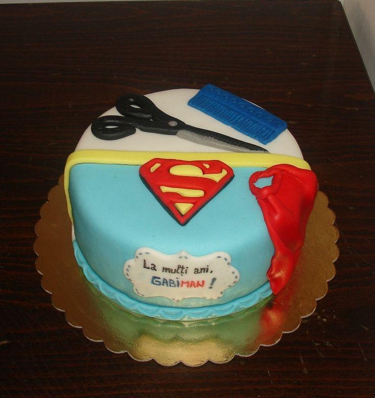 Tort frizer, fan Superman