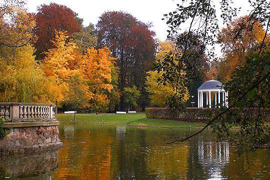 Lake Parc de l'Orangerie in Strasbourg. ©  Liliane