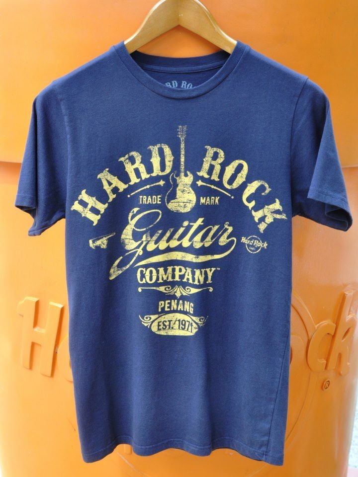 Men Guitar Co-Legacy Tee - RM110 pinned with Pinvolve